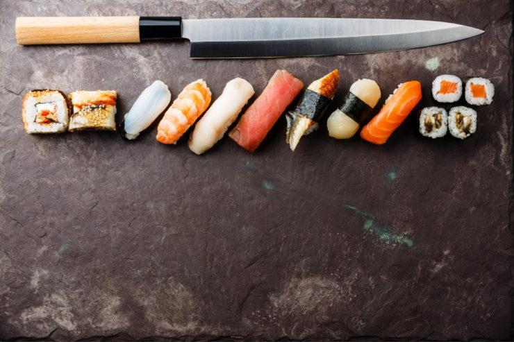 types of sushi knife