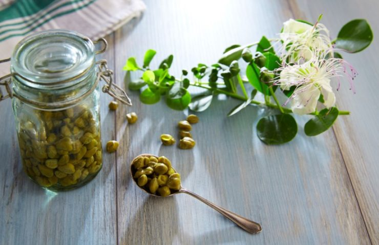 capers in the jar