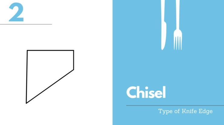 chisel knife edge