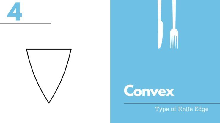 convex knife