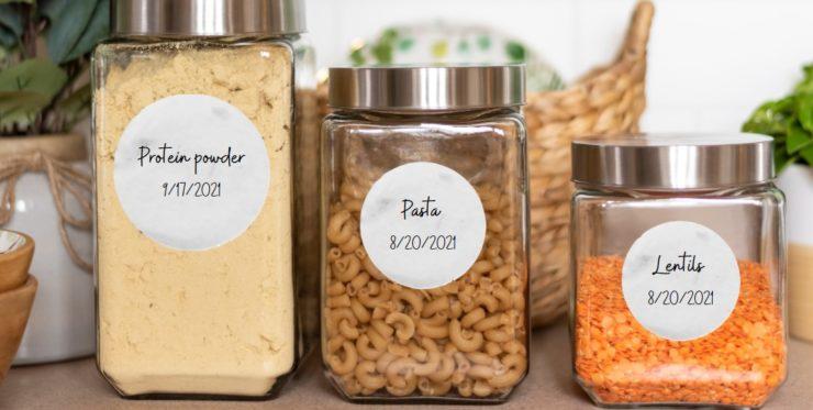 three  jars