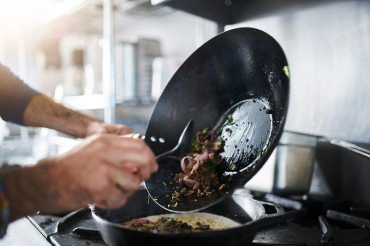 pan cooking