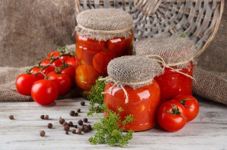 tomato in a jar