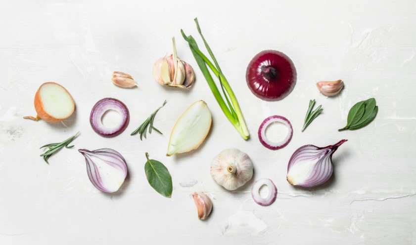 types of onion